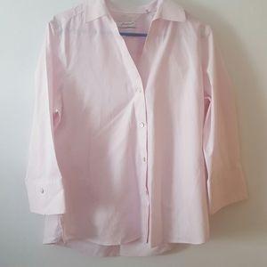Pink Foxcroft button down shirt Sz L